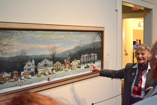 Norman Rockwell Museum: Gallery Talk