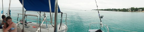 Good Times Catamaran Cruises: The boat - should be a panorama