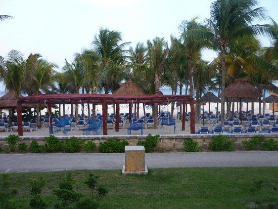 Sandos Playacar Beach Resort : Desde mi ventana, cada mañana