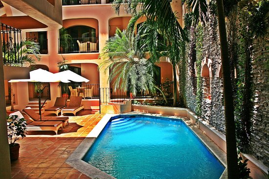 Acanto Boutique Hotel and Condominiums Playa del Carmen Mexico: pool
