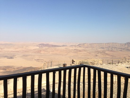 Beresheet Hotel by Isrotel Exclusive Collection : View of the Ramon Crater from our balcony