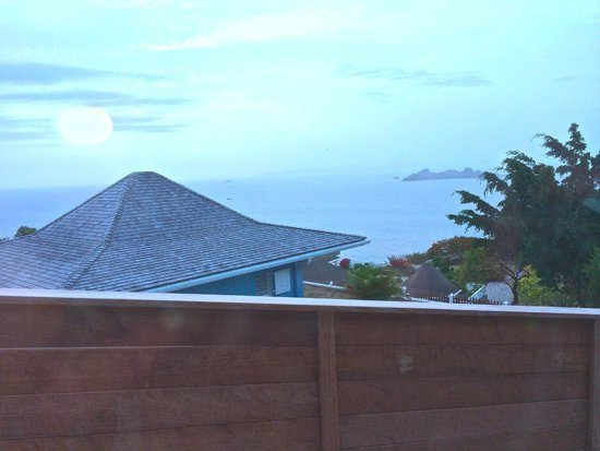 Le P'tit Morne Hotel : view from deck
