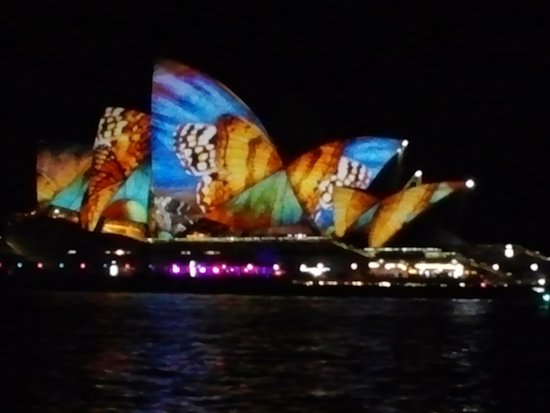 Sydney Harbour: fanatasic show