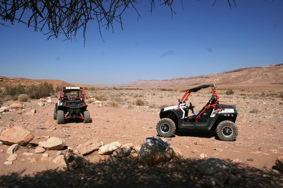Beresheet Hotel by Isrotel Exclusive Collection : ATV's on the Ramon Crater floor