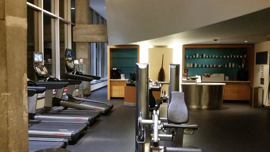 Montreal Airport Marriott In-Terminal Hotel: Fitness centre