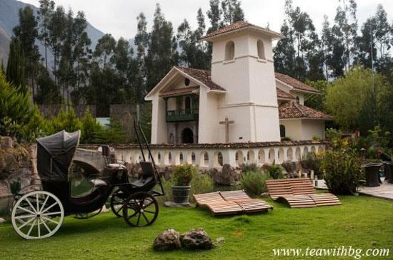 Aranwa Sacred Valley Hotel & Wellness: Ancient church