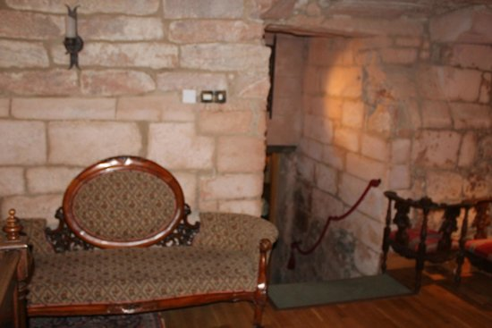 Dalhousie Castle: our suite