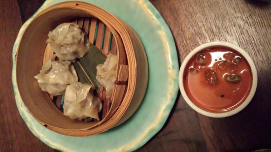 Sake Restaurant & Bar: Wagyu dumplings