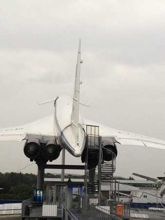 Auto & Technik Museum (Automobile and Technology Museum): Concorde backview