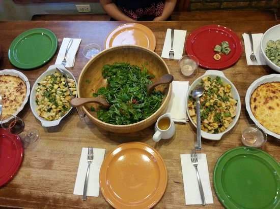 The Chopping Block: Family style lunch!