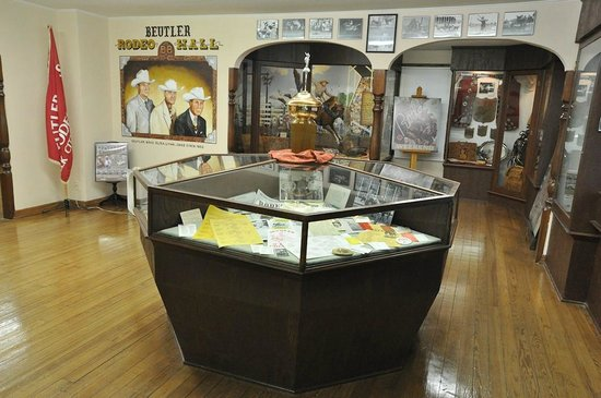 Old Town Museum : Beutler Family Hall of Fame, on the top floor of the main exhibit hall.