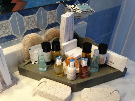 Royal Myconian Resort & Thalasso Spa Center: Loved the products