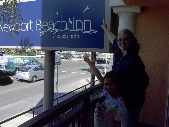 BEST WESTERN PLUS Newport Beach Inn: Here we are!