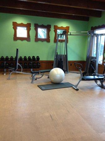 Madonna Inn: Gymmet