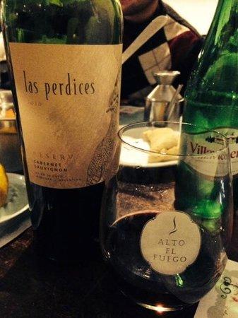 Alto el fuego: Las Perdices Cabernet Sauvignon