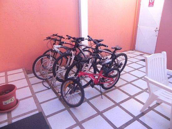 Hostal La Posada de José Carlos: Bicicletas de cortesia