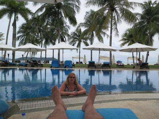 Casa del Mar, Langkawi : relaxing in the pool