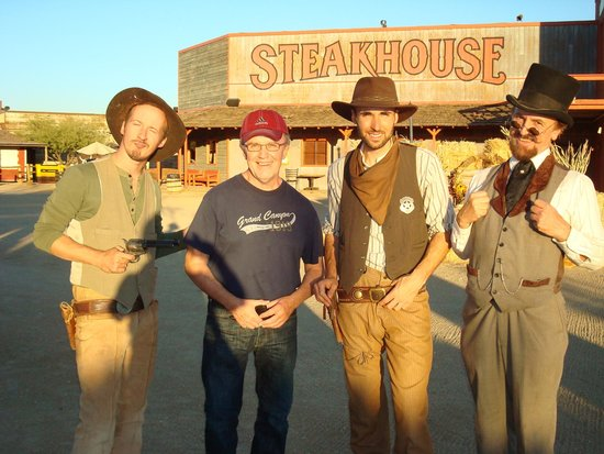 Rawhide Western Town & Event Center: Photo with actors
