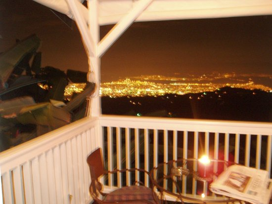 Strawberry Hill: View from the Balcony @ Night