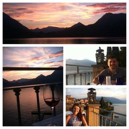 Albergo Milano: Our dinner at the hotel restaurant - La Vista