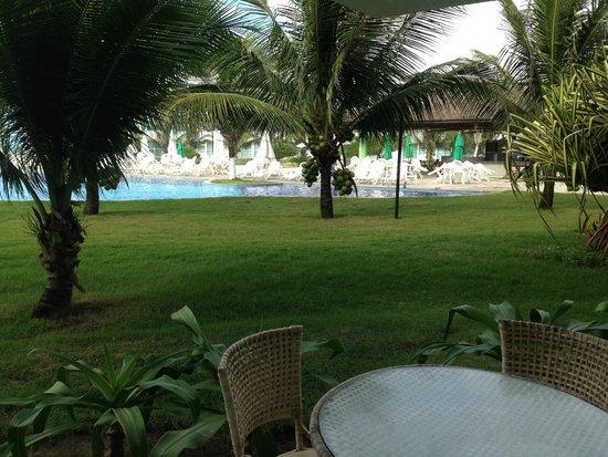 Ancorar Flat Resort: vista do apartamento