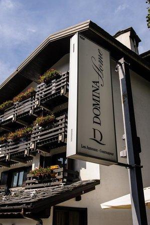 Hotel Les Jumeaux Courmayeur: Front rooms