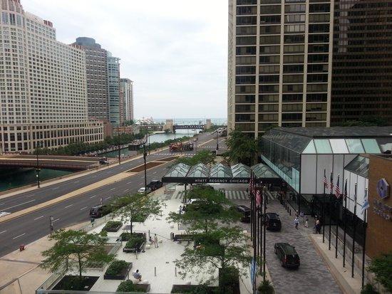 Hyatt Regency Chicago: Room With a View
