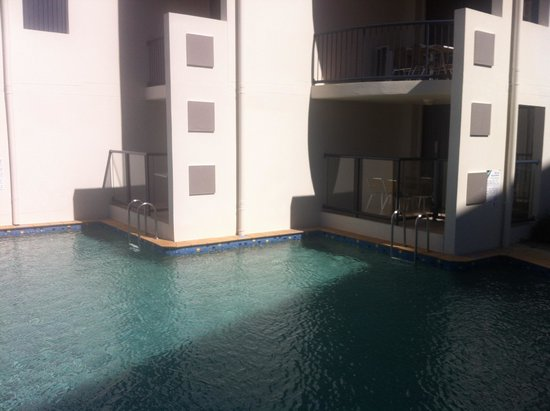 Mantra Hervey Bay: Direct pool access from ground floor units