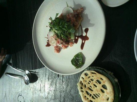 Merah Putih Restaurant: Pork appetizer