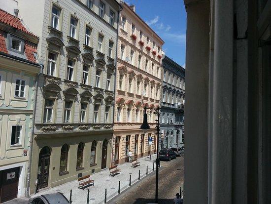 Hotel Salvator: Dalla finestra