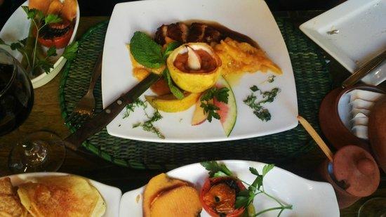 Indio Feliz Restaurant Bistro: Pollo Al Mango