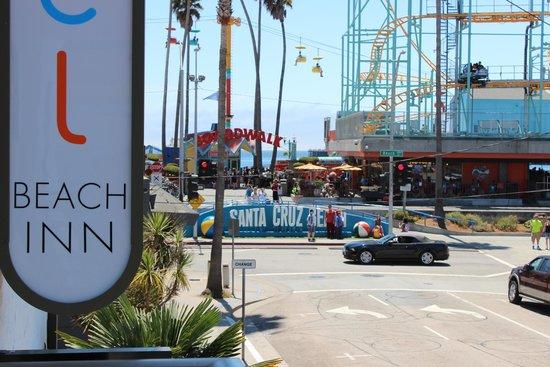 Carousel Beach Inn: View from our room