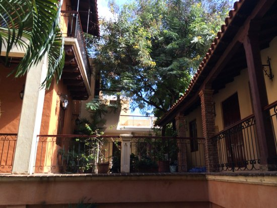 Boutique Hotel Palacio: View in the courtyard