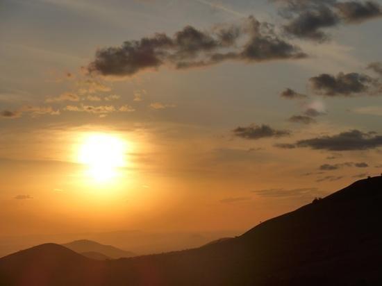 Sunset from Campi ya Kanzi