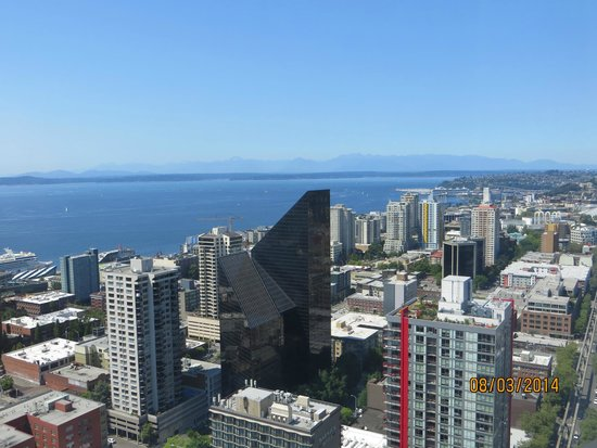 The Westin Seattle: what  a room with a view !!