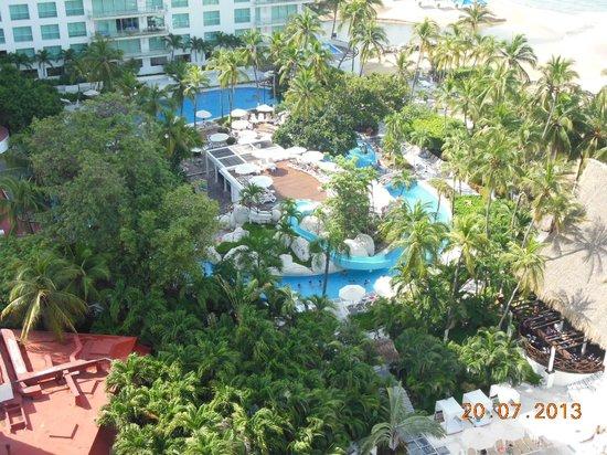 Emporio Acapulco Hotel: vista desde el cuarto
