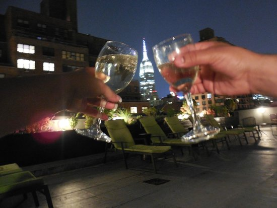 The Marcel at Gramercy : The 10th floor patio and view