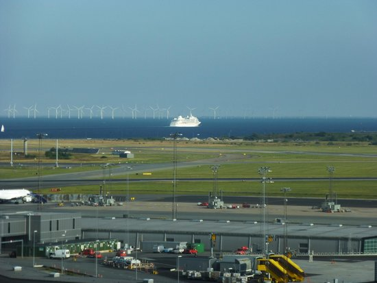 Hilton Copenhagen Airport: View from the room