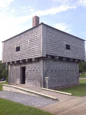 St. Andrews Blockhouse: well preserved