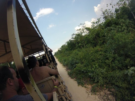 Selvatica: Riding the military truck!