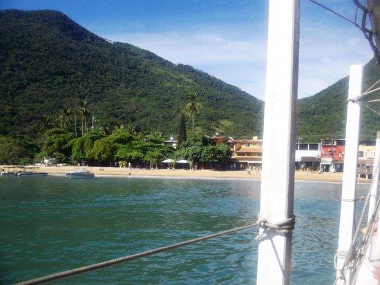Pousada Cauca: llegando a la isla!