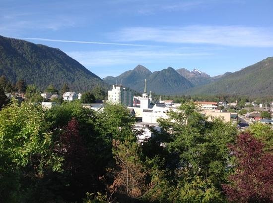 Baranof Castle State Historical Site: View from top. amazing