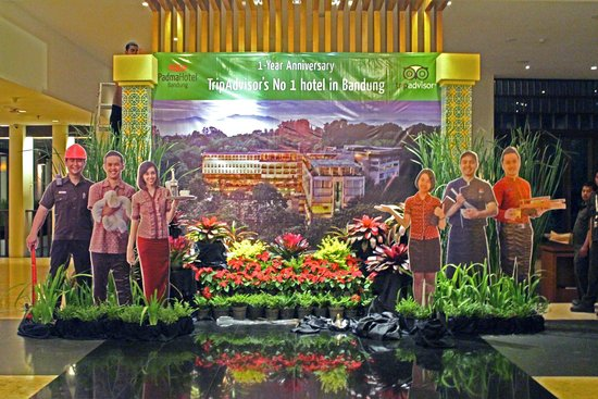 Padma Hotel Bandung: Padma is tops with TA members