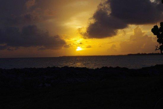 Shannas Cove Resort: sunset