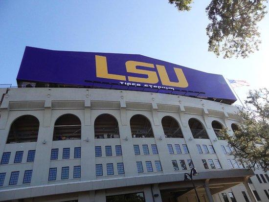 LSU Tiger Stadium: Imposing Structure - Tiger Stadium