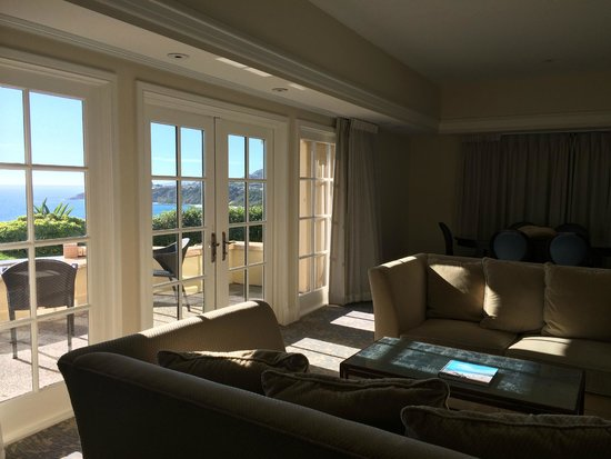 The Ritz-Carlton, Laguna Niguel: This suite was about as big as our house!