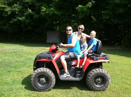 KJC ATV Rentals and Trails of South Haven: Thompson fun.