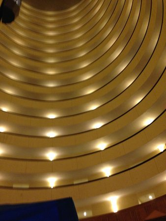 Park Vista - DoubleTree by Hilton Hotel - Gatlinburg: From the inside looking up
