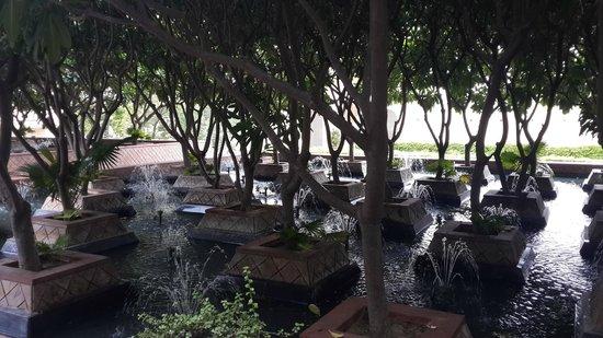 Le Meridien Jaipur: fountains