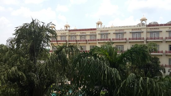 Le Meridien Jaipur: view from the room